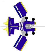 miniatura modello aeroplano di carta