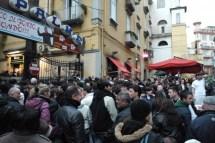 Nuovo negozio del Napoli innaugurato con il Pocho (3)