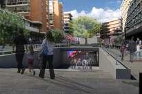 Stazione San Paolo Metro Linea 7 - 2