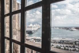 panorama sul porto da Castel Nuovo