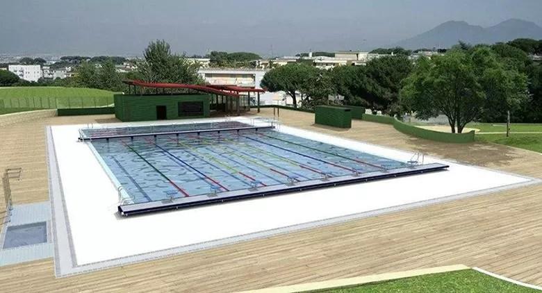 Nuova piscina pubblica a Napoli ecco come sar
