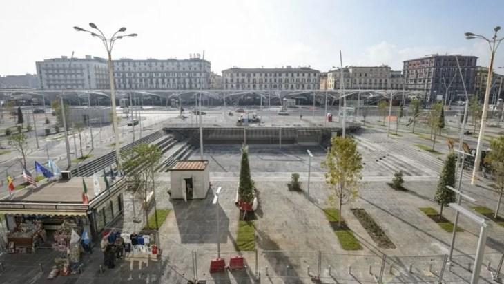 Nueva Piazza Garibaldi abrió en Nápoles en noviembre 2019 ...
