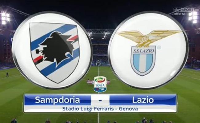 Diretta Online Serie A Sampdoria Lazio Live Report