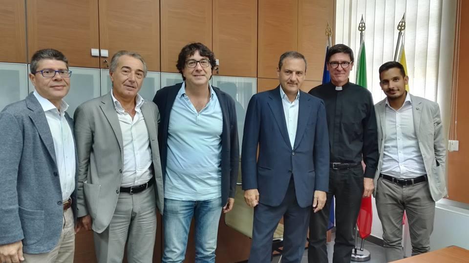 Ex Motorizzazione Civile, Sindaco e Vice Sindaco affidano la struttura alla parrocchia del SS Rosario