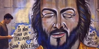 Bud Spencer, il murales comparso a Ponticelli