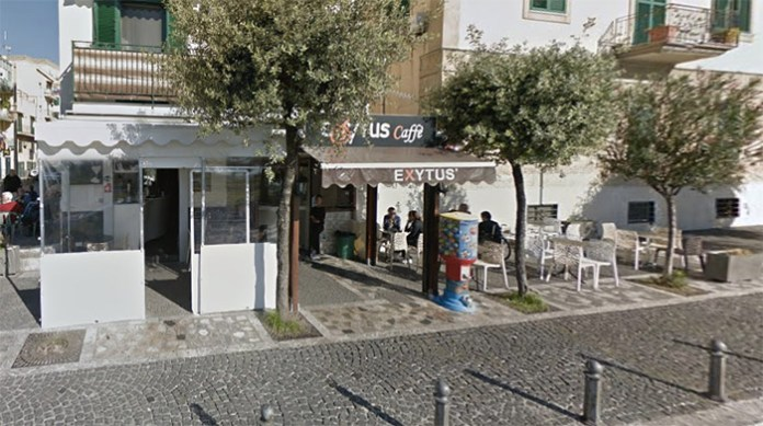 Incidente a Pozzuoli al bar Exytus