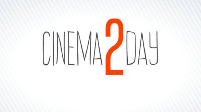 Cinema2Day, film a soli 2 ero in 3000 cinema italiani