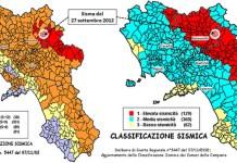 Classificazione del rischio sismico in Campania: 800mila fabbricati in zone pericolose