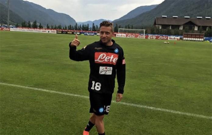 Dinamo Kiev contro il Napoli: mancherà Giaccherini