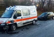 Incidente stradale in tangenziale: coinvolta un'ambulanza neonatale