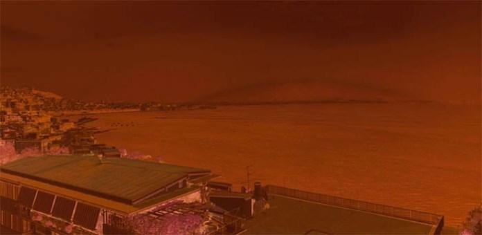 Vesuvio arcobaleno: vendita foto su ebay