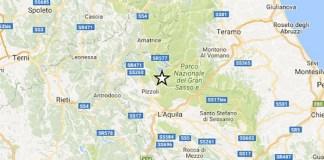 Terremoto oggi, L'Aquila: scossa di media intensità, magnitudo 3.9