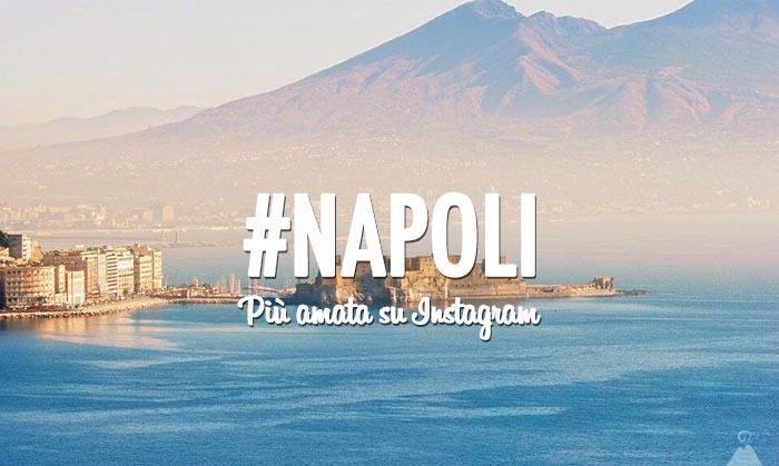È Napoli la quarta città italiana più amata dagli utenti di Instagram
