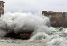 Allerta meteo Napoli: previsti forti venti su tutta la regione