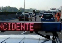 Incidente stradale a Monforte Irpino