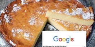 Il migliaccio napoletano tra gliargomenti più cercati su google 2017