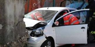 Incidente a Piedimonte Matese: tragico schianto contro un muro