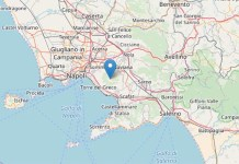 Terremoto a Napoli: registrata sul Vesuvio scossa di magnitudo 2.2