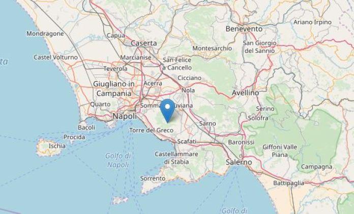 Terremoto Campania, sul Vesuvio: due scosse di lieve entità