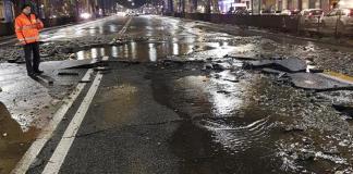 Disagi da maltempo, Colli Aminei: sprofonda manto stradale