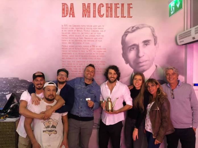"""L'Antica pizzeria da Michele"" vince il London Pizza Festival 2019"