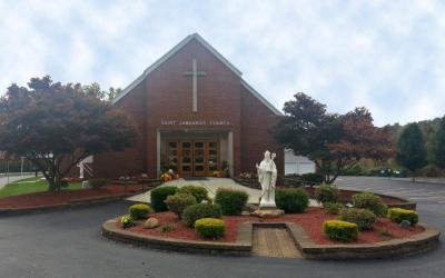 Chiesa di San Gennaro (St Januarius Catholic Church) a Pittsburg, PA, USA