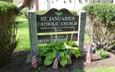 Chiesa di San  Gennaro  (St.Januarius) a Napoli, New York