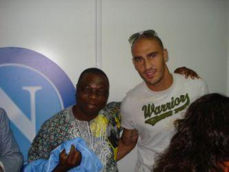 Congolesi tifosi del Napoli