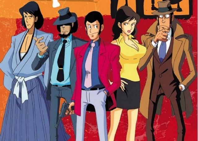 I personaggi nell'anime.