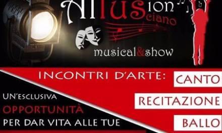 """Prende vita a Lusciano il progetto """"Allusion Musical&Show"""""""