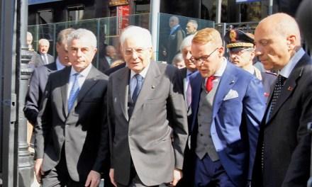 Il Presidente Mattarella inaugura il Museo dei treni di Pietrarsa