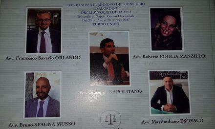 Elezioni al Consiglio dell'ordine degli avvocati di Napoli. Nuovi candidati e nuove idee