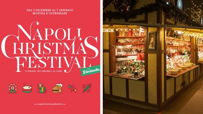 Napoli Christmas Festival: un flop a colori