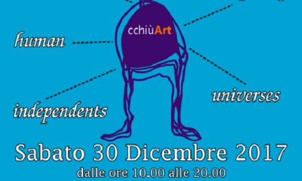 cchiùAuguri: gli artisti del gruppo cchiùArt aspettano il 2018 con un nuovo evento