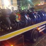 """Blitz contro """" scooter selvaggio"""" nel Rione Sanità:elevate contravvenzioni per circa 10.000€"""