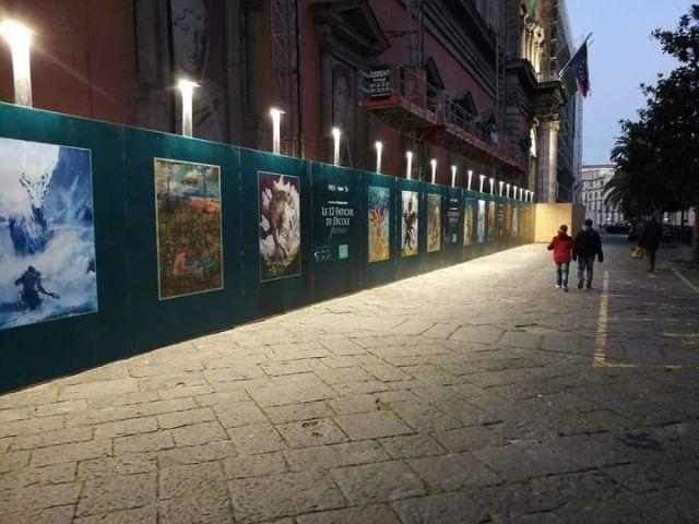 Podio del Museo Archeologico Nazionale di Napoli