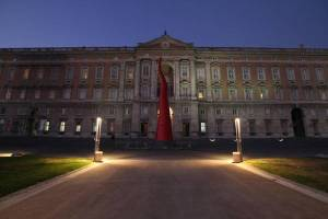 Regia of Caserta: new lucky charm sculpture