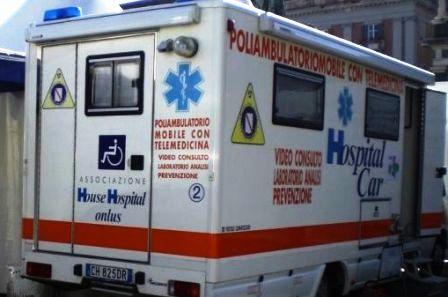 hospital car