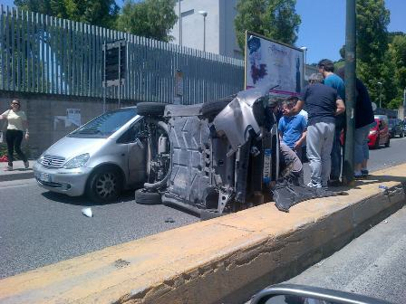 incidente agnano
