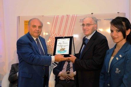 Marco Salvatore premiazione