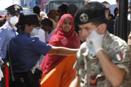 nave 1000 profughi ansa