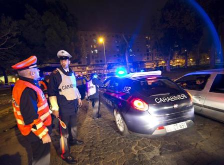 Controlli Carabinieri ansa