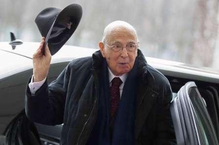 Dimissioni Napolitano