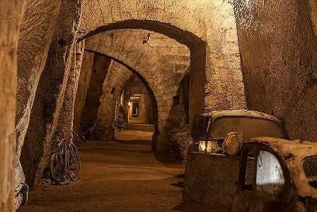 tunnel borbonico galleria