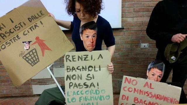 Manifestazione Bagnoli