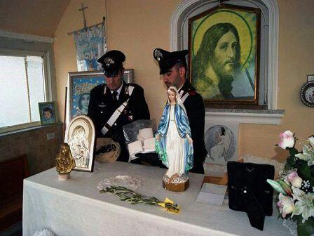 Cocaina chiesa