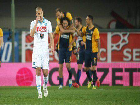 Soccer: Serie A; Verona-Napoli