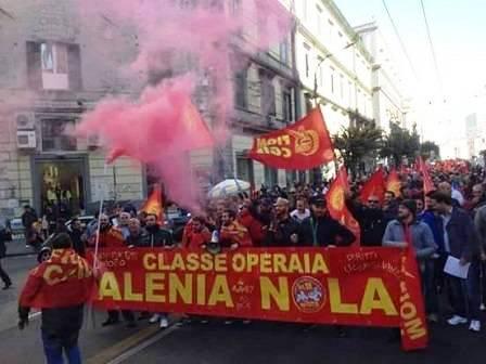 sciopero alenia