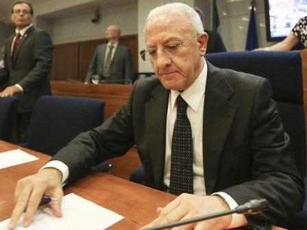 Vincenzo De Luca Consiglio regionale Campania