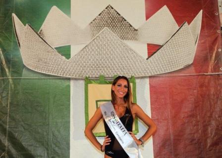 Miss Miluna Campania 2015 Valeria Chianese